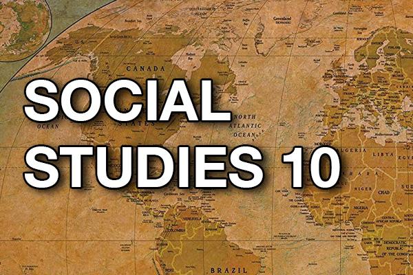 YL Social Studies 10