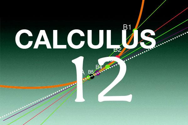 Calculus 12